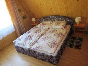 Masuren Ferienhaus Bajak Doppelbett