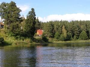 Ferienhaus in masuren Bajka aus Wasser